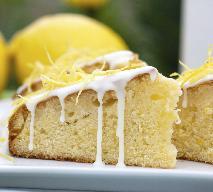 Ciasto cytrynowe - lekkie i pachnące