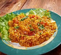 Pilaw z bulguru - smaczne danie kuchni arabskiej