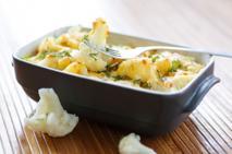Zapiekanka z warzywami pod beszamelem - szybki obiad