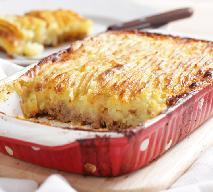 Mielona wołowina zapiekana z puree ziemniaczanym: kapitalna zapiekanka obiadowa