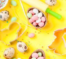 Wielkanocny mazurek ananasowy