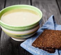 Zupa krem z pora z mlekiem sojowym: oryginalny przepis