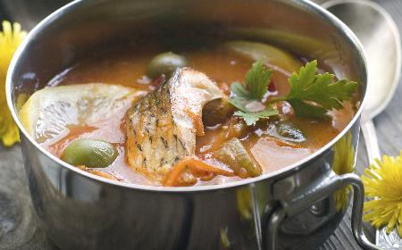 Ucha - rosyjska zupa rybna - sprawdzony przepis