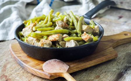 Sałatka z fasolki szparagowej z rozmarynem