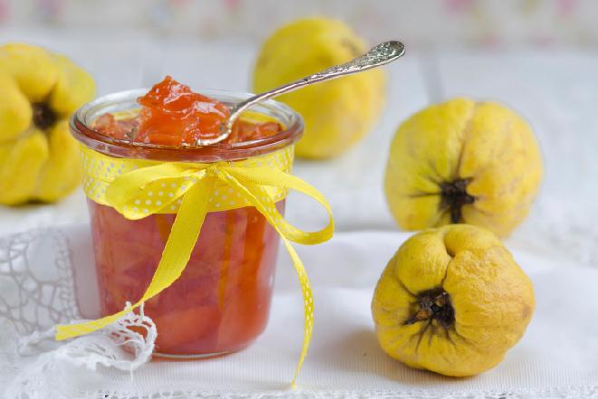 Pigwa: dżem z pigwy z pomarańczą