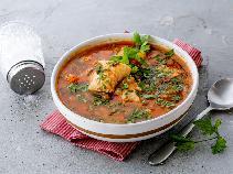 Znakomita zupa gulaszowa z dorszem