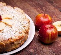 Torcik serowy z jabłkami - znakomity sernik jabłkowy