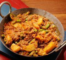 Masala z warzyw - pachnąca orientem potrawka warzywna na pocieszenie