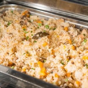 Zapiekane risotto cheddarowe - kremowe i łatwe w przygotowaniu