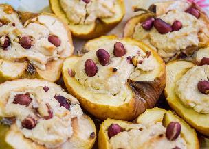 Francuskie jabłka dmuchane z calvadosem - pyszny deser z pieczonych jabłek